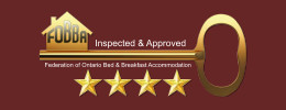 Inspected and approved FOBBA - 4 stars